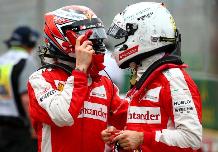 Raikkonen y Vettel para 2016. |FormulaNitroF1